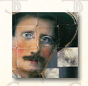 James Joyce - art for Los Angeles Times